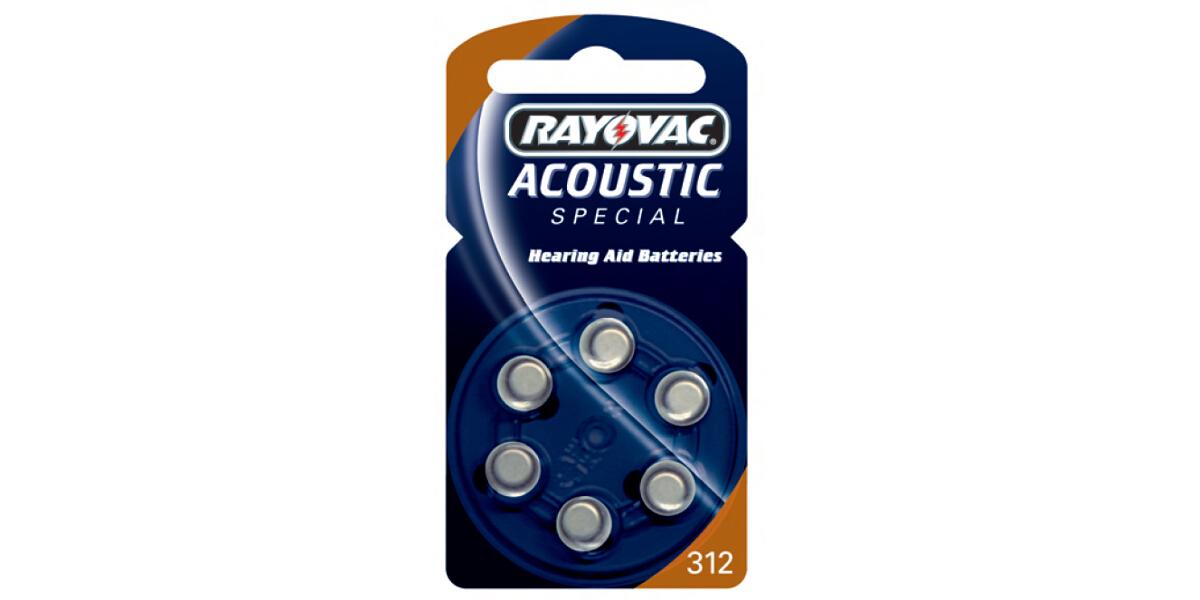 Ray-o-vac Hörgerätebatterien