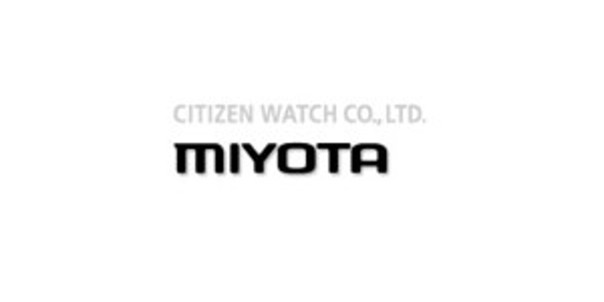Armbanduhrwerke MIYOTA
