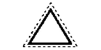 Handfeilen Dreikant