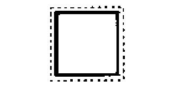 Nadelfeilen Vierkant
