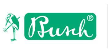 Busch Fräser - Form: 8, FLAMME