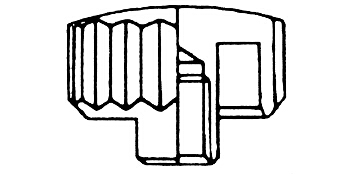 Kronen einfach - Kurzhals