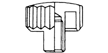 Kronen einfach - Langhals