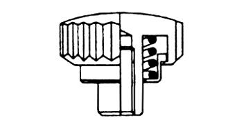 Kronen mit Federtubes - Langhals