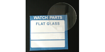 Mineraluhrgläser flach