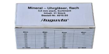Mineraluhrgläser flach Sortimente