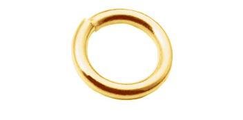 Binderinge rund, Gold 585