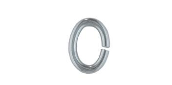 Binderinge oval, Edelstahl