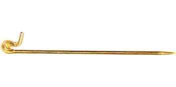 Broschnadeln mit Stiftschanier