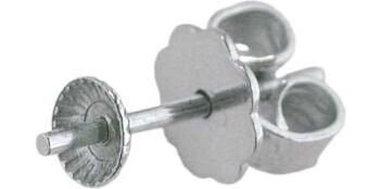Ohrstecker mit Perlschale