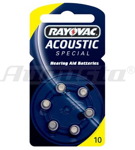 RAY-O-VAC Hörgerätebatterien 10 Zink-Air