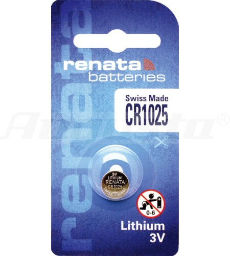 RENATA LITHIUM BATTERIEN CR1025 1er Blister