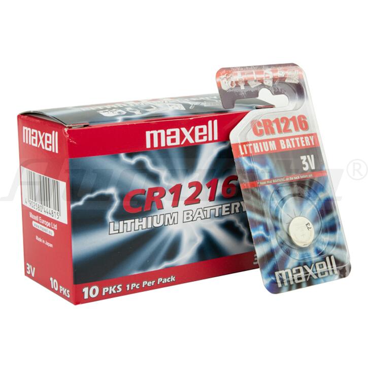 MAXELL Lithiumbatterien CR 1216 1er Blister