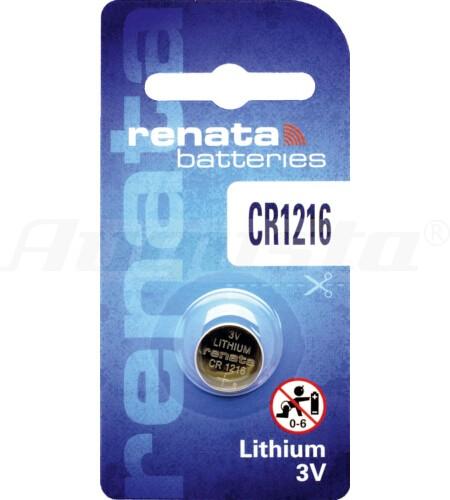 RENATA LITHIUM BATTERIEN CR1216 1er Blister