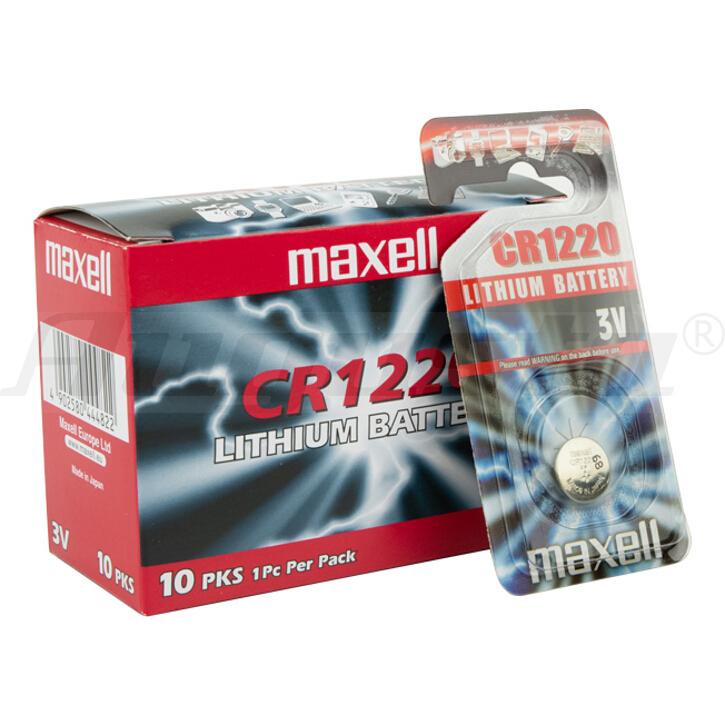 MAXELL Lithiumbatterien CR 1220 1er Blister