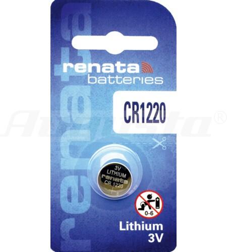 RENATA LITHIUM BATTERIEN CR1220 1er Blister