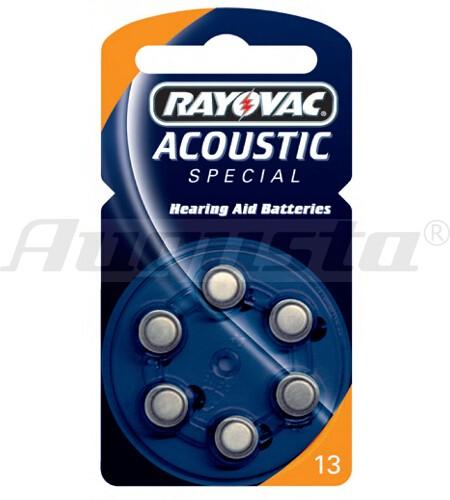 RAY-O-VAC Hörgerätebatterien 13 Zink-Air