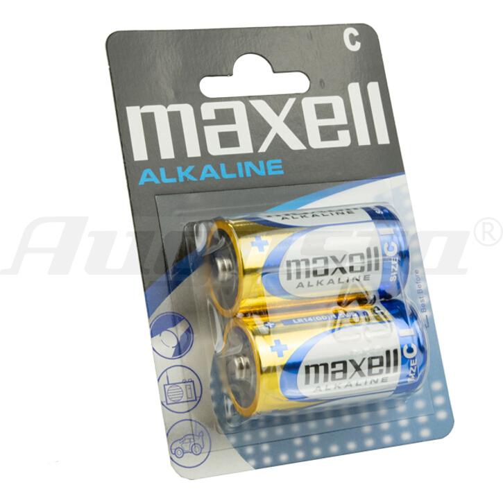 MAXELL Batterien BABY  C / LR 14