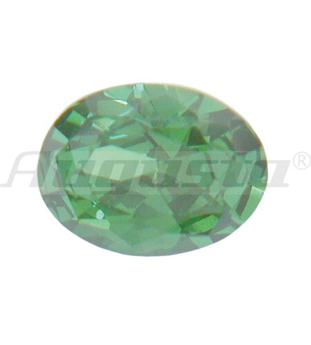 Cubic Zirconia, farbig, oval