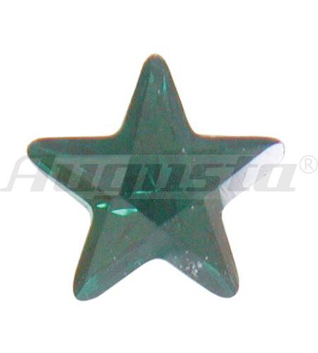 Cubic Zirconia, farbig, Stern