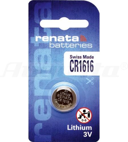 RENATA LITHIUM BATTERIEN CR1616 1er Blister