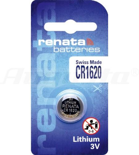 RENATA LITHIUM BATTERIEN CR1620 1er Blister