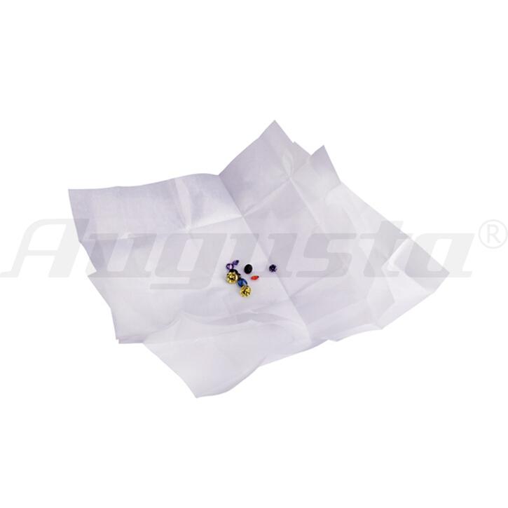 Diamantpapier weiß/weiß, 80 X 45 mm 25 Stück
