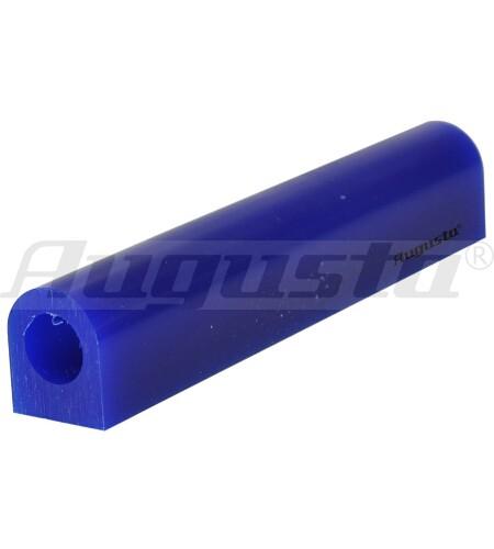 MATT Wachs Siegelringprofil hart, blau, 25 X 29 Ø 16 mm