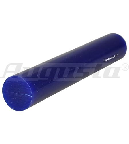 MATT Wachs Rundprofil massiv hart, blau, Ø 27 mm