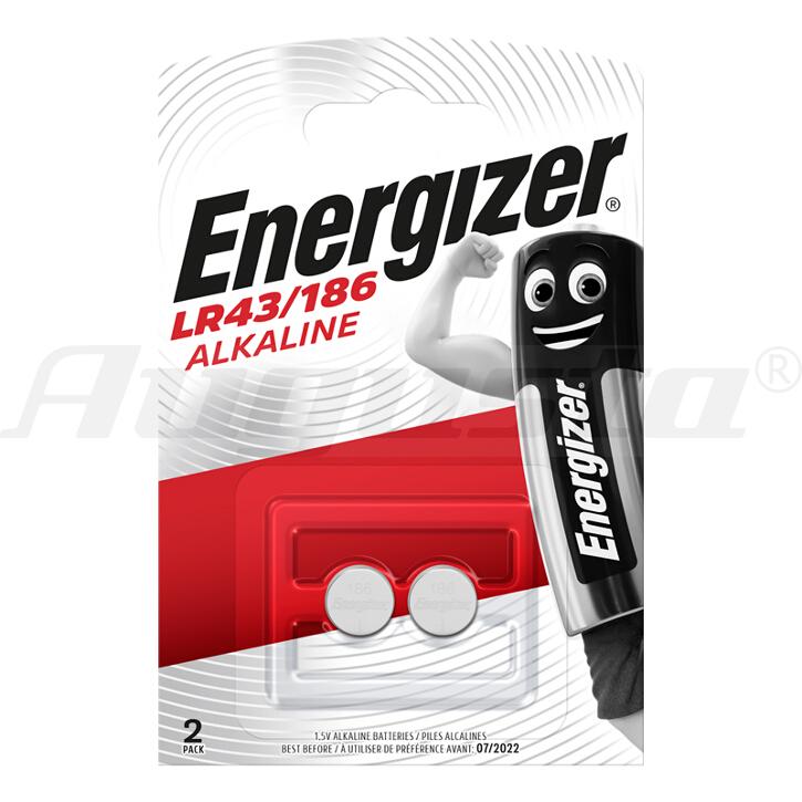 ALKALI-KNOPFZELLEN ENERGIZER 186 LR 43