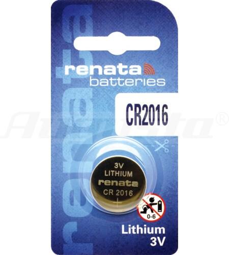 RENATA LITHIUM BATTERIEN CR2016 1er Blister