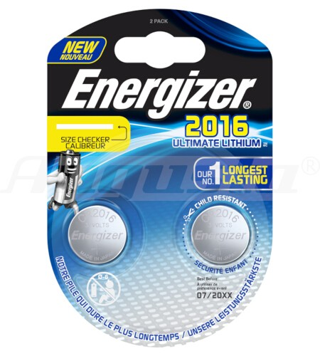ENERGIZER ULTIMATE LITHIUM BATTERIEN CR 2016