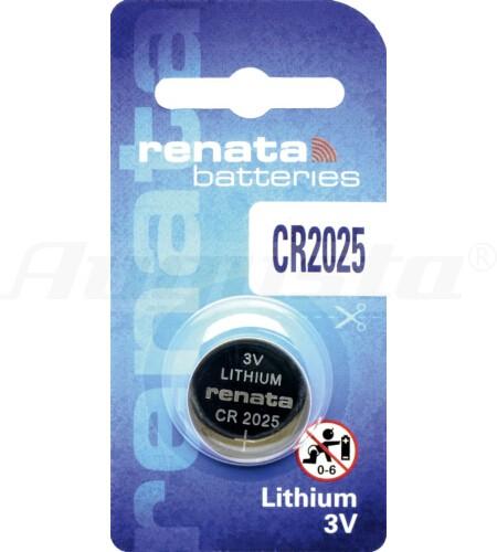 RENATA LITHIUM BATTERIEN CR2025 1er Blister