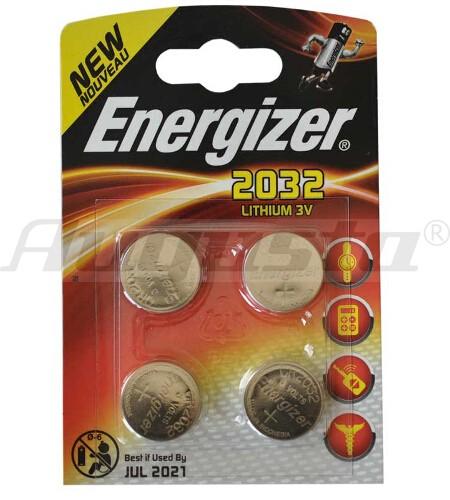ENERGIZER Lithiumbatterien CR 2032 4er Blister