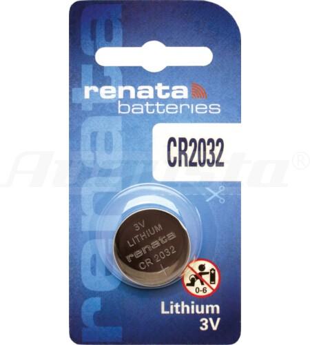 RENATA LITHIUM BATTERIEN CR 2032 1er Blister