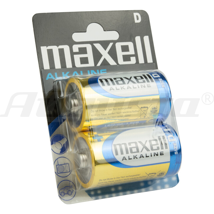 MAXELL Batterien MONO D / LR 20
