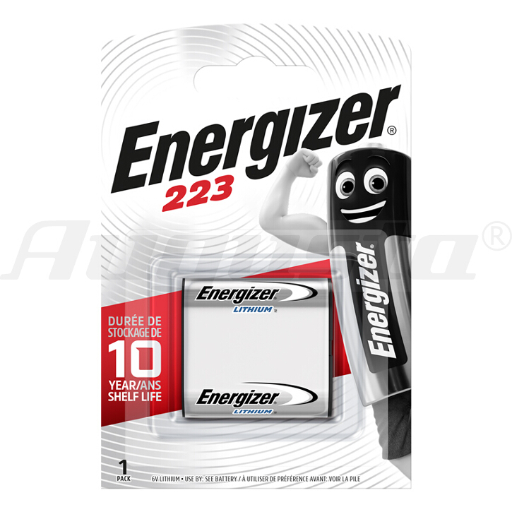ENERGIZER LITHIUM FOTOBATTERIE 223