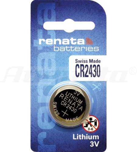 RENATA LITHIUM BATTERIEN CR2430 1er Blister
