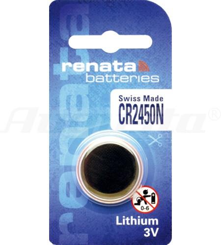 RENATA LITHIUM BATTERIEN CR2450N 1er Blister