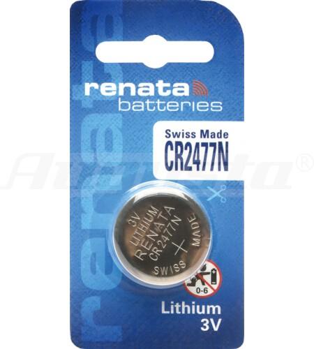 RENATA LITHIUM BATTERIEN CR2477N 1er Blister