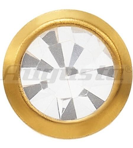 SYSTEM 75 Erstohrstecker 18 kt Gelbgold Kristall