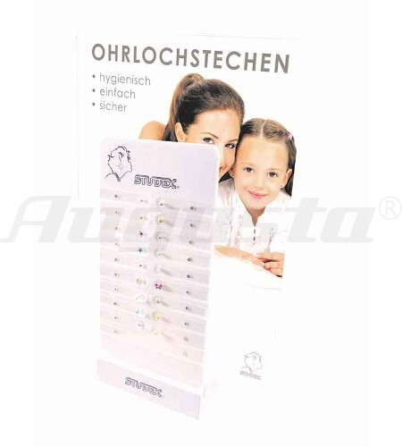 DISPLAY FÜR OHRSTECKER PEGGY DISPLAY FÜR 18 OHRSTECKER