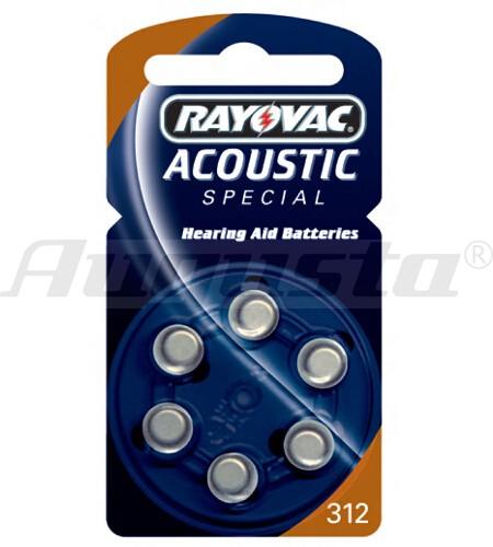 RAY-O-VAC Hörgerätebatterien 312 Zinc-Air