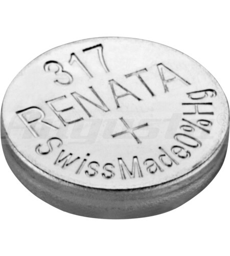 RENATA Knopfzellen 317