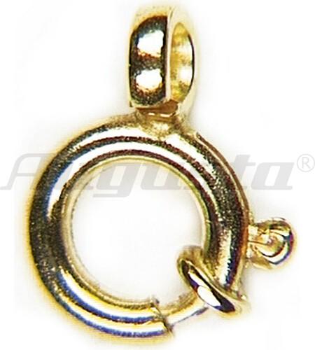 FEDERRINGE 7 MM GOLD 333 MIT BUND, EXTRA STARK