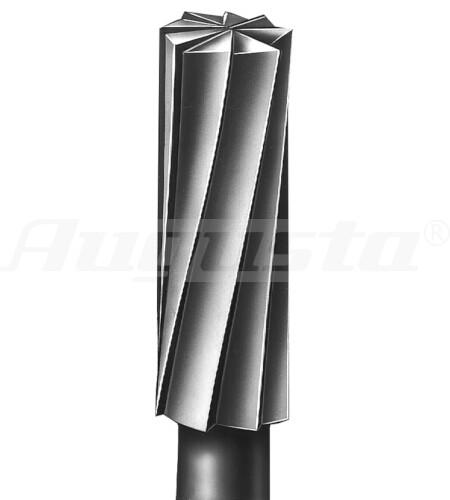 BUSCH Stahlfräser Form 21, Zylinder Ø 0,90 mm