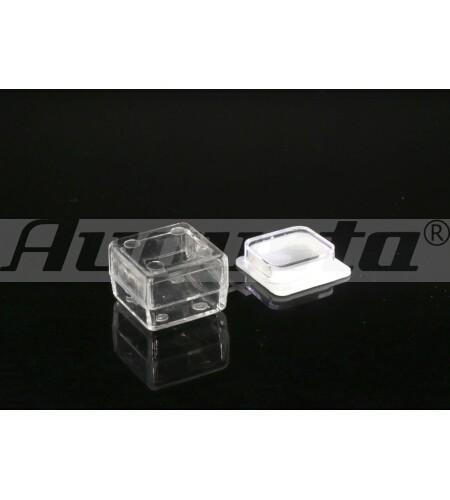 KLEINTEILDOSE, TRANSPARENT 22,5 X 22,5 X 18 mm