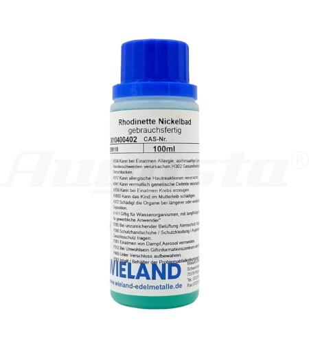 RHODINETTE NICKELBAD 100 ml