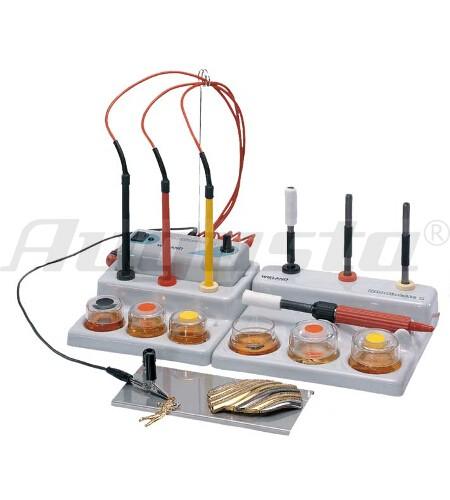 Whilaplat RHODINETTE 2 Stiftgalvanisiersystem komplett mit Ausstattung zur Tampongalvanik