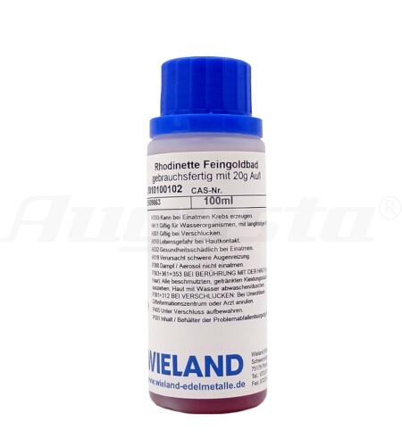 RHODINETTE FEINGOLDBAD 100 ml